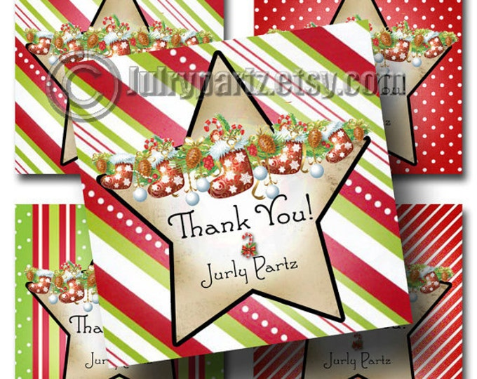 18•Christmas Stocking Tags•Gift Tags•Shower Favor Tags•Favor Tags•Paper Tags•Price Tags•Clothing Tags•Holiday Gift Tag