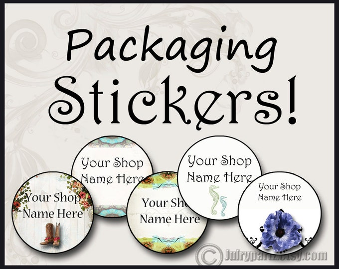 60•1.5 x 1.5•Round Labels•CUSTOM SHOP STICKERS•Package Labels•Custom Stickers•Custom Labels•Packaging