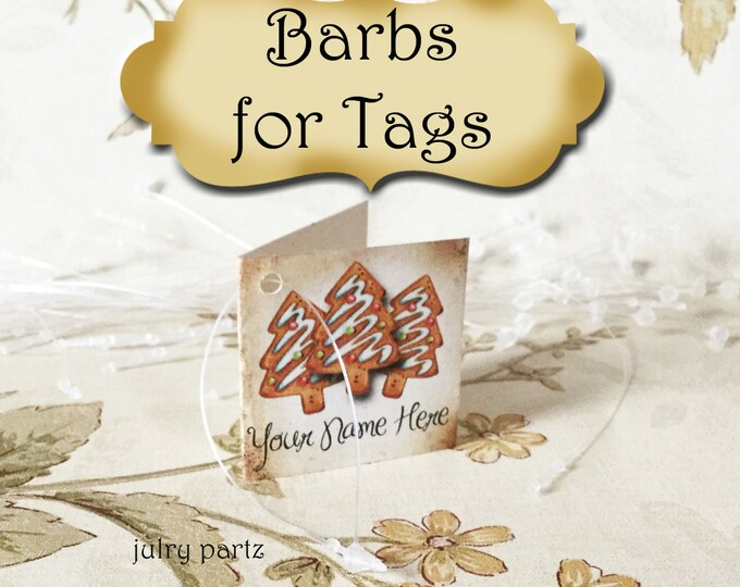 Plastic Barbs for tags•Tag Holders