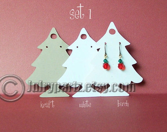 36 Piece CHRISTMAS SETS•Earring Cards•Jewelry cards•Earring Display•Earring Holder•Holiday Display Cards