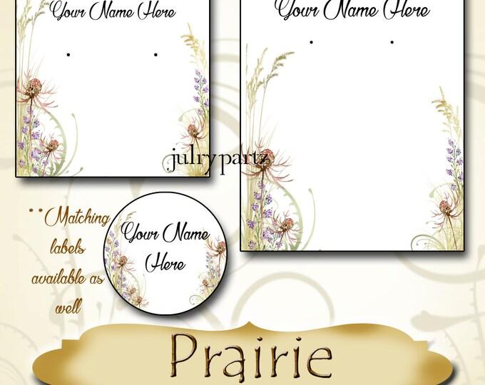 PRAIRIE•Custom Tags•Labels•Earring Display•Clothing Tags•Custom •Boutique Card•Tags•Custom Tags•Custom Labels