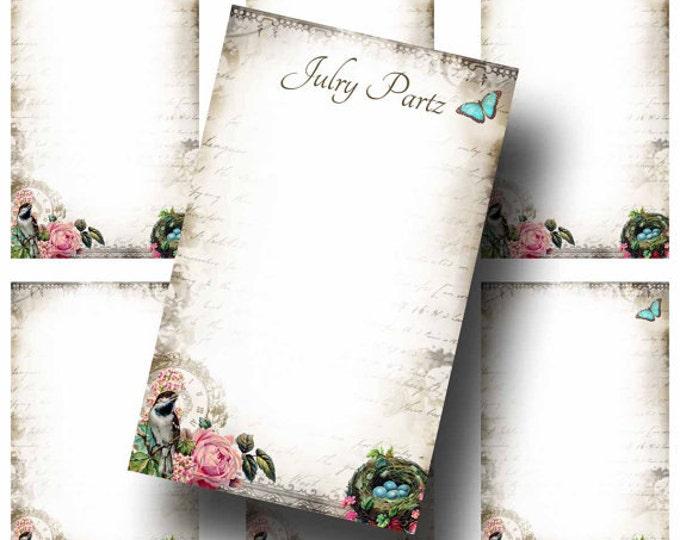 DIY Birds Nest, Earring Cards,DIY Jewelry cards,Tent Card,Earring Display,Earring Card,Necklace Holder, DIY Jewelry Cards, Printable Cards