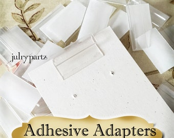 Adhesive Adapters for Jewelry Cards•Card Holders•Earring Card Adapters•Boutique Supply
