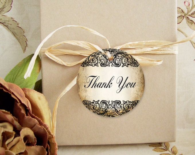 30-DIY Vintage Flip Tags•Gift Tags•Paper Tags•Price Tags•Clothing Tags•Thank you tags