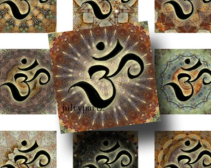 FAE•1x1 OM Images•Printable Digital Images•Cards•Gift Tags•Stickers•Magnets•Digital Collage Sheet