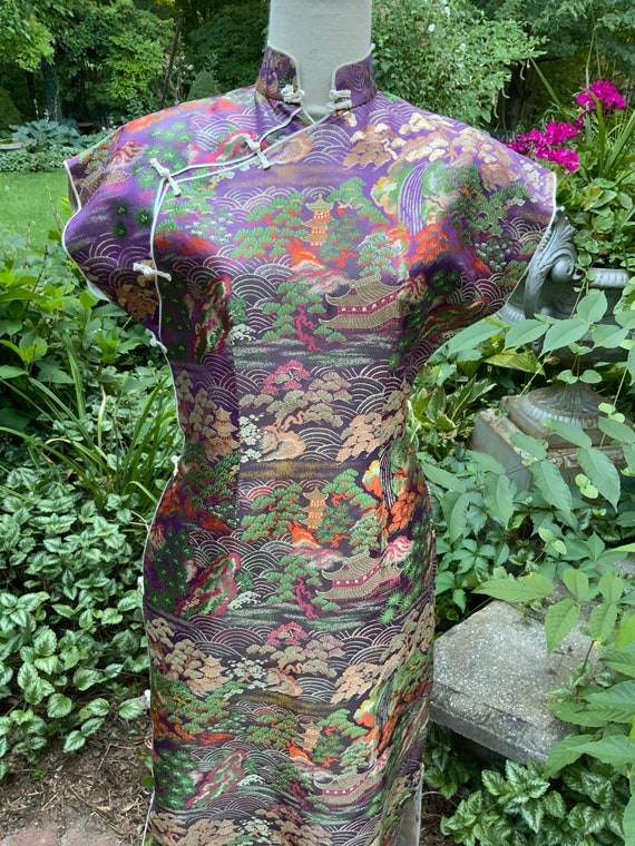 Oriental New Old Silk Dress