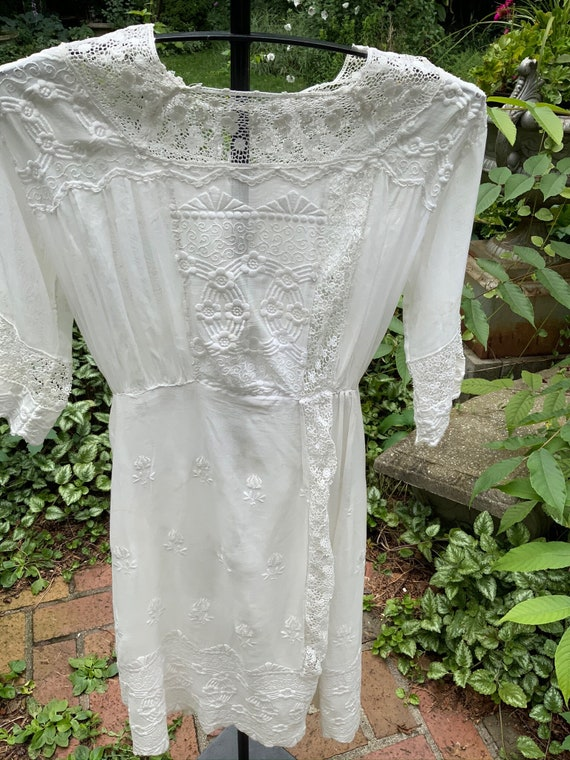 Picture perfect Edwardian voile dress