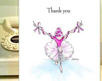 Cancer thank you notes, Breast Cancer cards, Cancer Thank You Cards, Cancer card, Get Well Cancer card, funny friendship, cards for friends