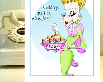 funny birthday funny woman humor card cards for women chocolate humor woman humor funny birthday cards for friends