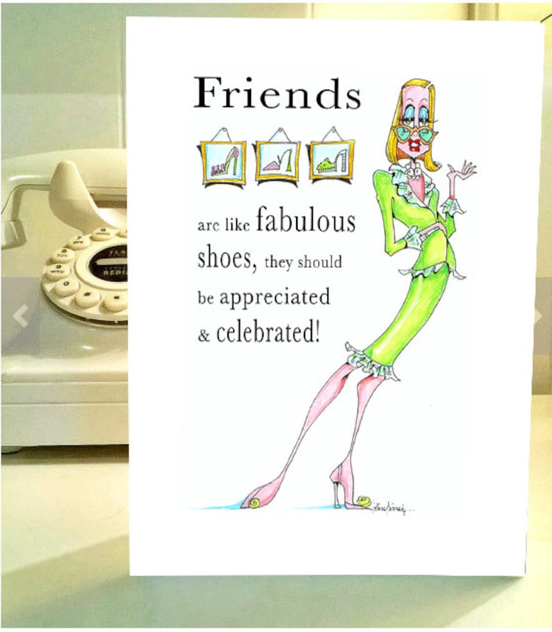 Funny Birthday Card Women Humor For