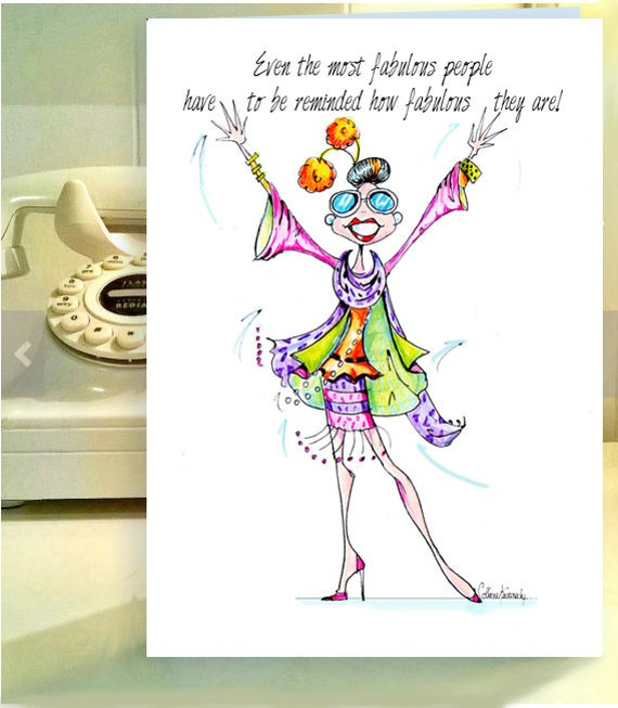 Funny Woman Birthday Cards Card Women