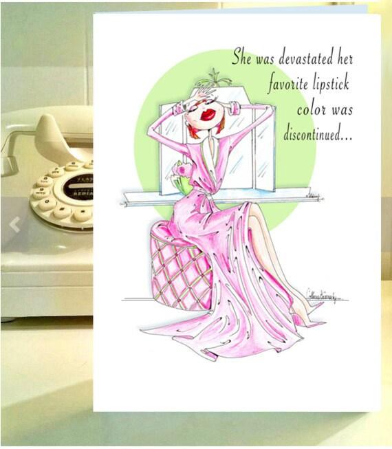 Funny Birthday Friend Women Humor Birthday Card Funny Women Etsy