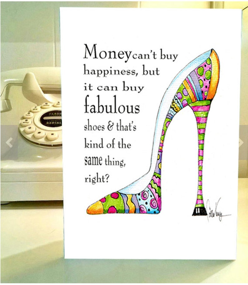 19fcfd200663 Funny birthday cards Shoes humor funny shoe birthday shoe