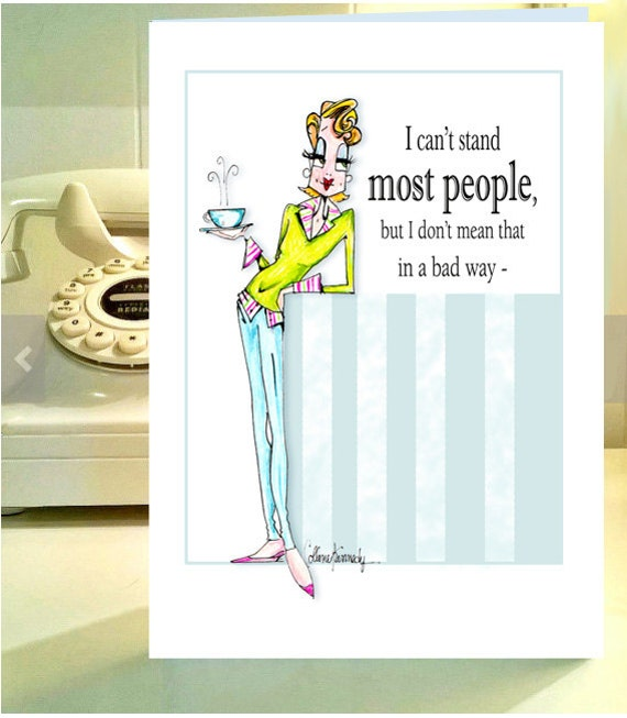 Funny Birthday Card Funny Cards Funny Birthday Card For Her Etsy