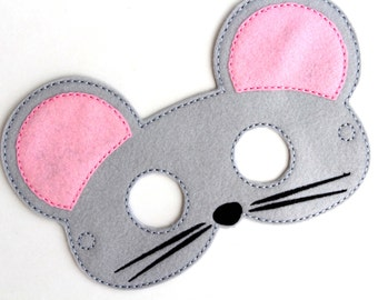 Kids Cat Mask Black Cat Costume Felt Mask Kids Face Mask | Etsy