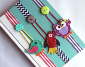 Pick ANY 2 Bookmarks, Elastic Ribbon, Elastic Bookmark, Planner Accessories, Kids Bookmark, Place Holder, Text Book, Planner