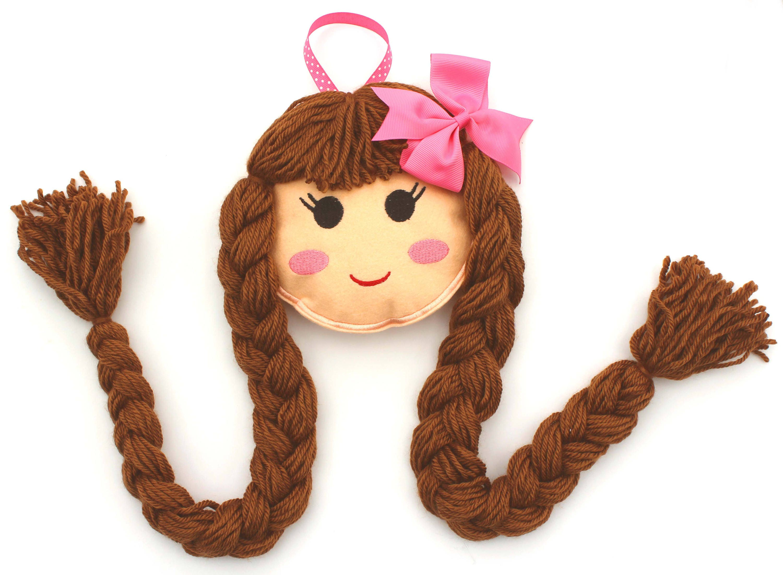 Puppe Gesicht Haar Clip Halter Doll Face Bow Halter blond   Etsy