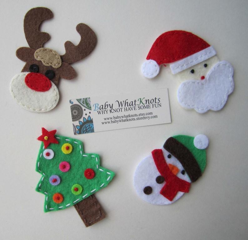 Holiday Magnet Set Christmas Magnets Christmas Tree Etsy