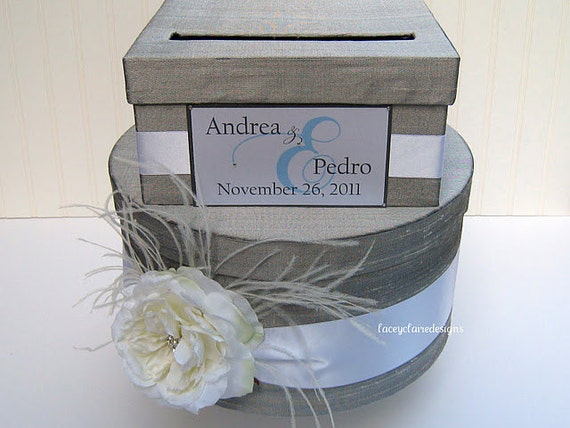 Diy Wedding Gift Box: Items Similar To Wedding Card Box Money Card Box Gift Card