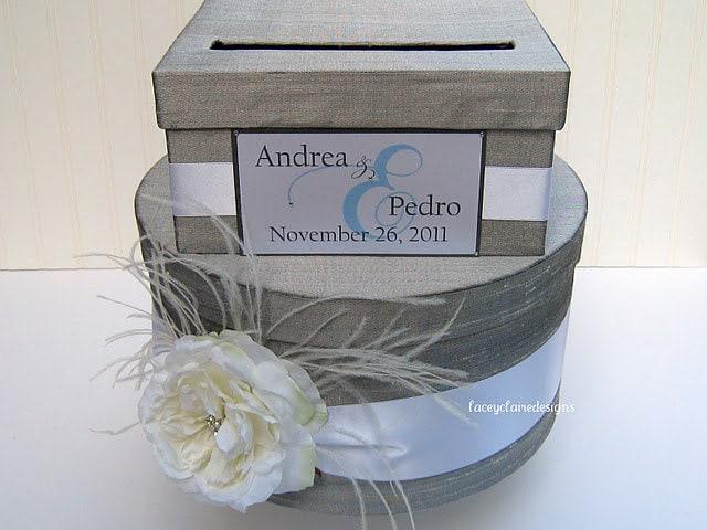 Gift Card Boxes Wedding: Wedding Card Box Money Card Box Gift Card Holder Custom Made