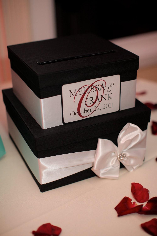 wedding card box money holder gift card box bridal shower