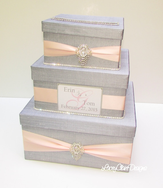Wedding Gift Post Boxes For Cards: Items Similar To Wedding Gift Box, Card Box, Money Holder