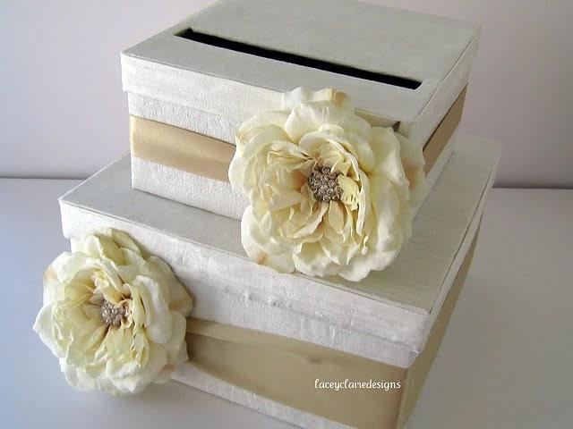 Gift Card Wedding Shower: Card Box Wedding Bridal Shower Card Box Wedding Gift Card