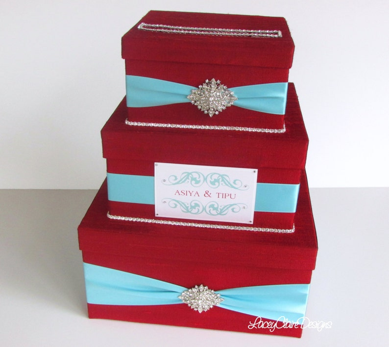 Gift Card Box For Wedding Reception