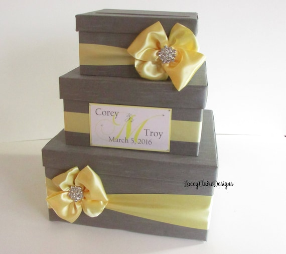 wedding card box secure card box money holder reception etsy