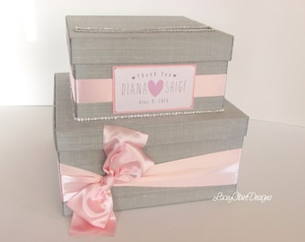 Money Card Box Wedding Card Holder Wishing Well You customize colors