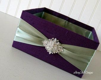 Wedding Box, Program Box, Bubble Box, Centerpiece, Favor Holder, Container for Programs,  - Custom Made