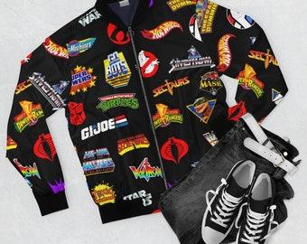Farpoint Vintage Boys Toy Logos Unisex Bomber Jacket