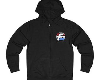 Farpoint From Retro To Right Now® Medium-Weight Unisex Zip Hoodie