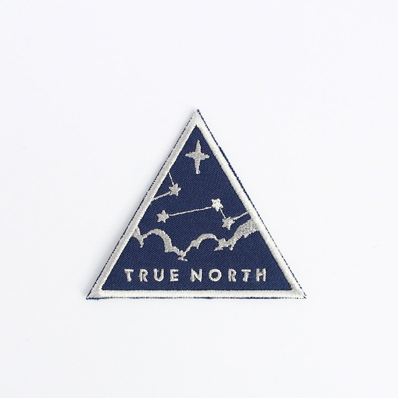 True North Patch // sky stars navigation clouds night sky image 0