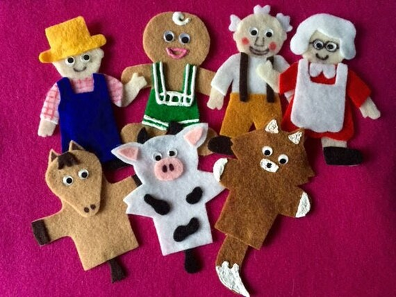 The Gingerbread Man Story Felt Board Set