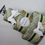 Baby Diaper Cake Airplanes Travel Final Destination World Maps Shower Centerpiece Gift