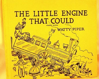 Vintage Little Engine That Could Hardcover Book