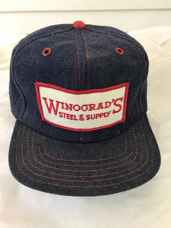 vintage Winograds Emblems Denim  snapback cap hat