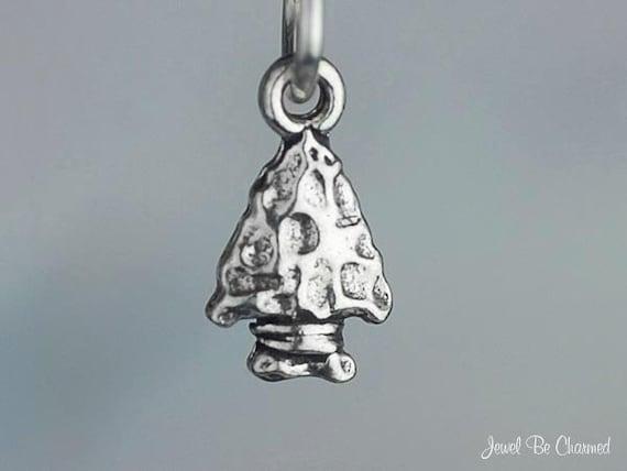925 sterling silver ARROWHEAD small Arrow Tiny Native south western Charm Mini