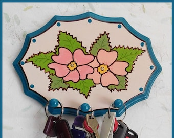 Wall Key Holder #2, Wall Jewelry Holder