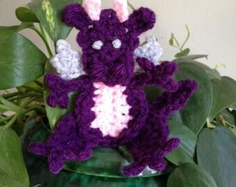 Crochet Pattern - Dragon Applique