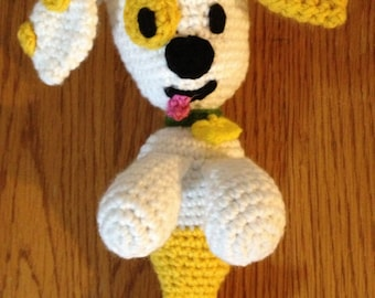 Puppy Mermaid  - Crochet Pattern - Amigurumi PDF