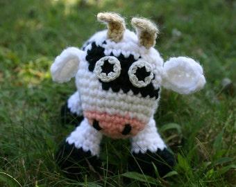 Dominik the Cow - Crochet Pattern - Amigurumi PDF
