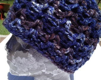 Crochet Pattern Only - The Val Beanie Sizes 0-3 thru Teen/Sm Adult