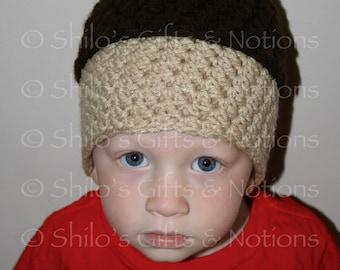 Crochet Acorn Beanie Pattern