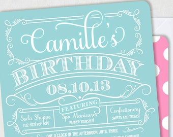 Country Club Invitations by Loralee Lewis
