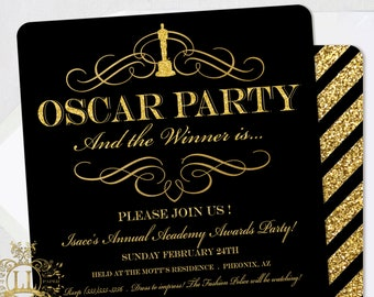 Old Hollywood Invite Etsy