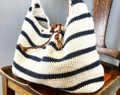 CROCHET PATTERN, The Cameron Slouchy Bag , Crochet Pattern, Easy Bag Pattern, Crochet  Pattern,  Summer Bag Pattern