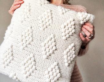 CROCHET PATTERN, Diamonds in the Puff Pillow Pattern, Crochet Pillow Pattern,  Pattern, Crochet, Pattern, Pillow Pattern, Pillows Patterns