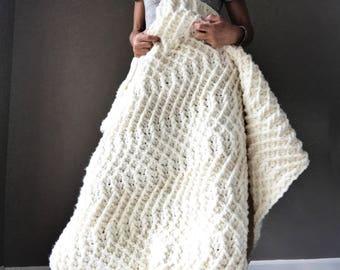 Crochet Afghan Pattern, The Sweet Slumbers Blanket Pattern, Crochet Pattern, Crochet Afghan Pattern, Cabled Afghan Pattern, Blanket Pattern